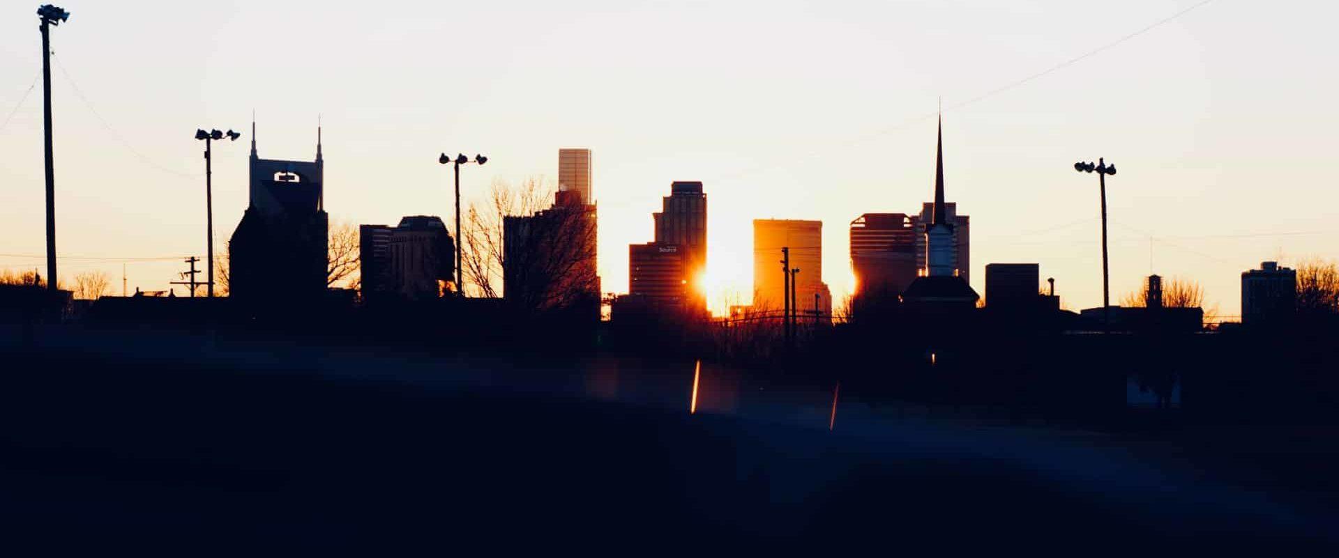 Get Up & Give Breakfast Nashville Skyline